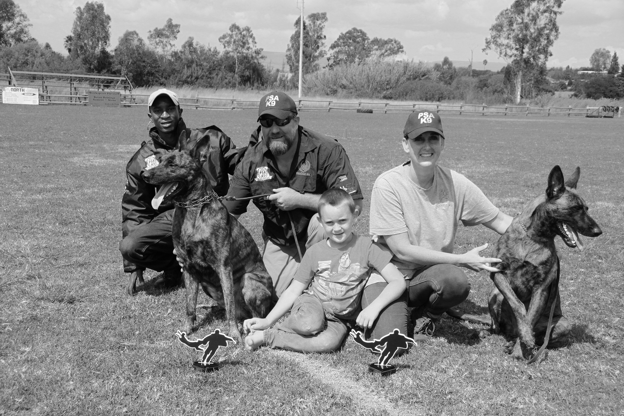 Johannesburg, South Africa - Working dogs, personal protection, detection, tracking, protection, green dogs, anti- poaching and even sports dogs